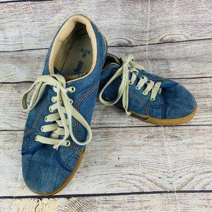 Levi's For Feet Vintage Denim Suede Sneakers Women